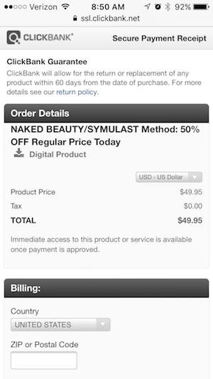 secure mobile order naked beauty symulast method
