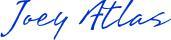 joey atlas blue signature