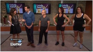 Joey Atlas on Better TV Talk Show with Cellulite Success Story Clients